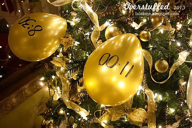 New Year's Eve Tree Balloons