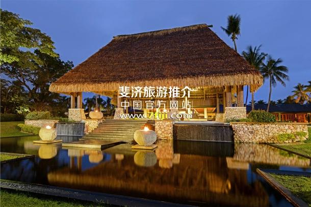 斐济威斯汀水疗度假酒店建筑风格