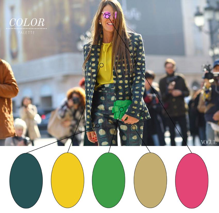 Julip Made color palette