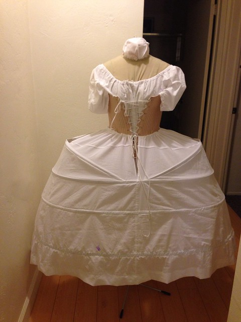 18th century reproduction panniers