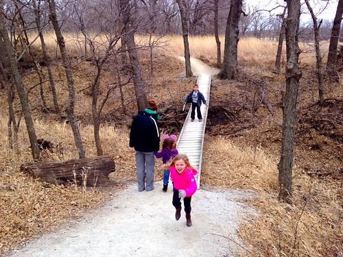 Konza Prairie January 2014