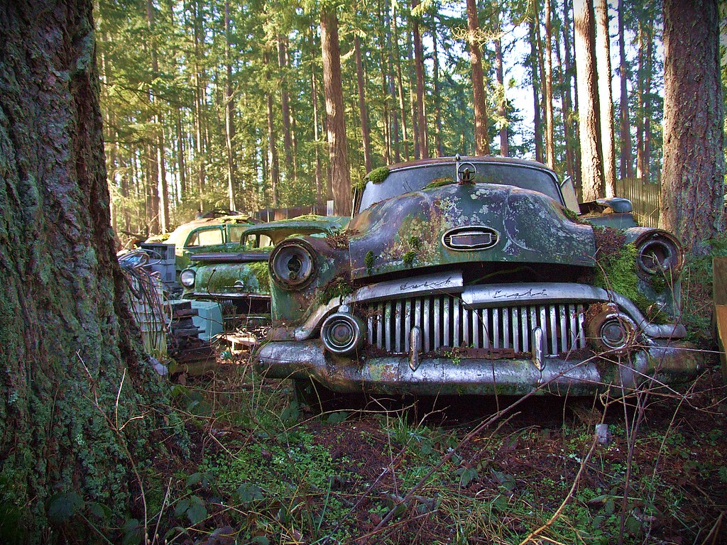 Buick Eight Grill - Trust Salvage - Auburn WA
