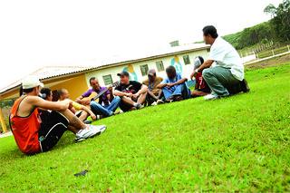 Interação dos residentes da CRAVI
