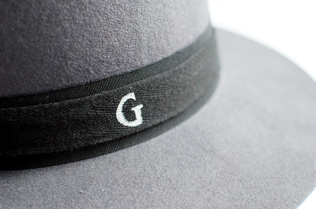 make a monogram fedora with Geneva of A Pair and A Spare