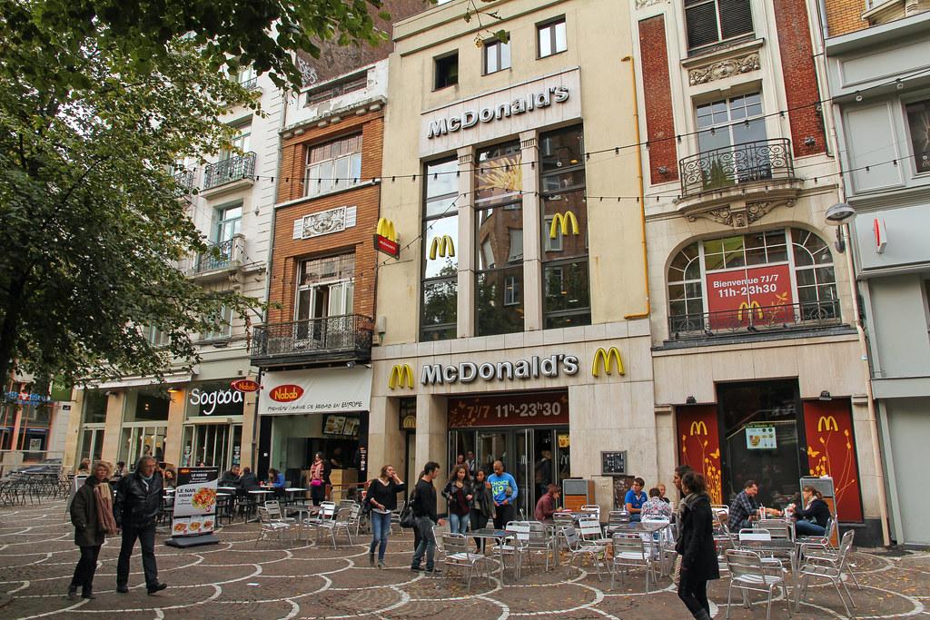 McDonald's Lille Place de Béthune (France)