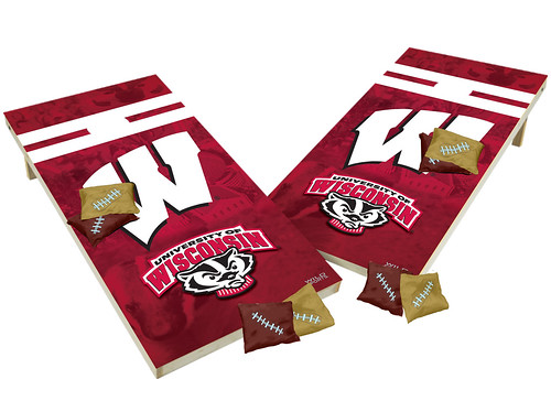 Wisconsin Badgers Custom Cornhole Boards XL