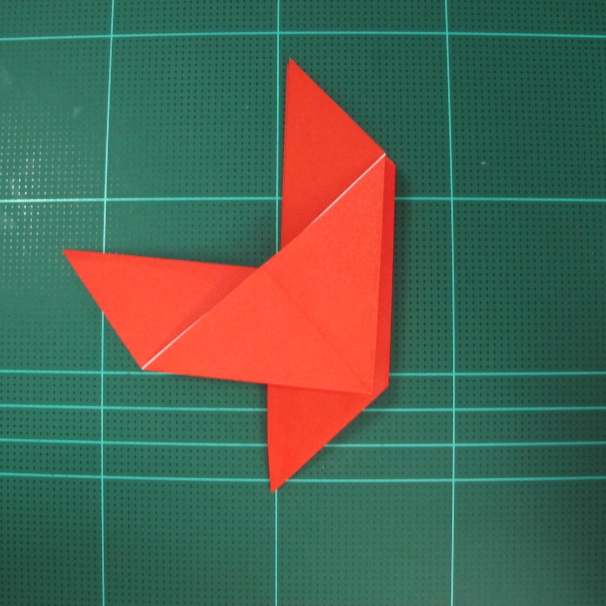 การพับกระดาษเป็นนกพิราบ (Origami pigeon) 00017