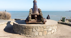 A Blast From The Past  - Crimean War Cannon On Dun Laoghaire East Pier