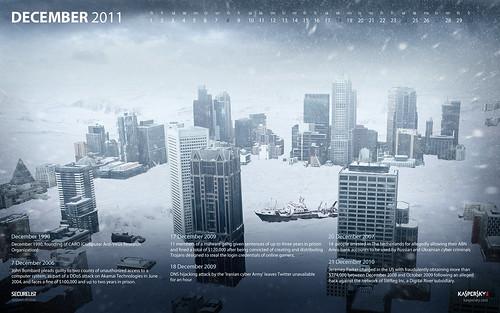 Malware calendar (2011)