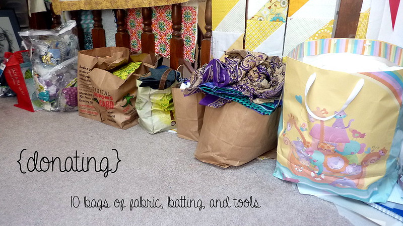 Sewing Room Declutter