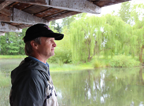 Oregon landowner Dave Budeau said he dreamed of protecting wetlands. An NRCS-led conservation partnership helped Budeau restore and enhance these wetlands, providing habitat for native fish and birds. NRCS photo.