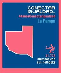Provincia de La Pampa. Conectar Igualdad 4 AÑOS