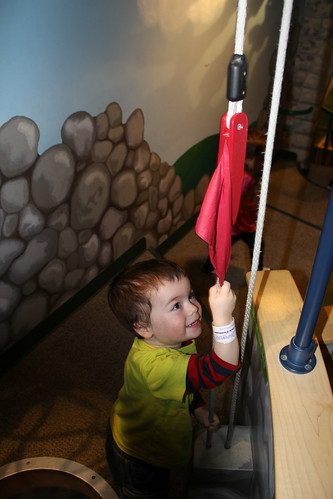 Port Discovery - Toddler Trails - Sagan Hoists a Flag