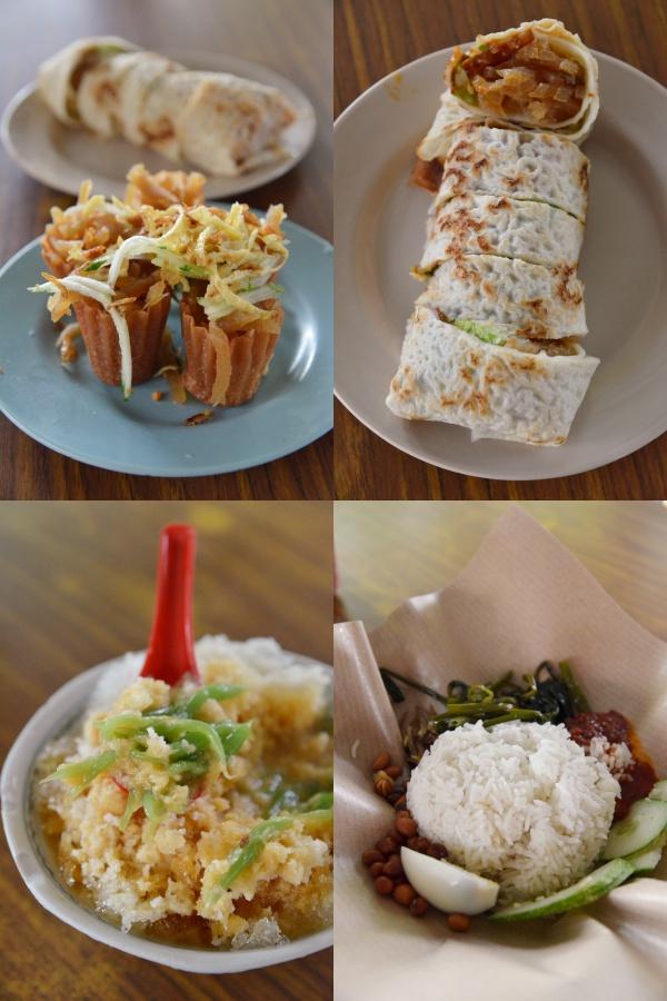 Pie Tee, Popiah, Cendol & Nasi Lemak