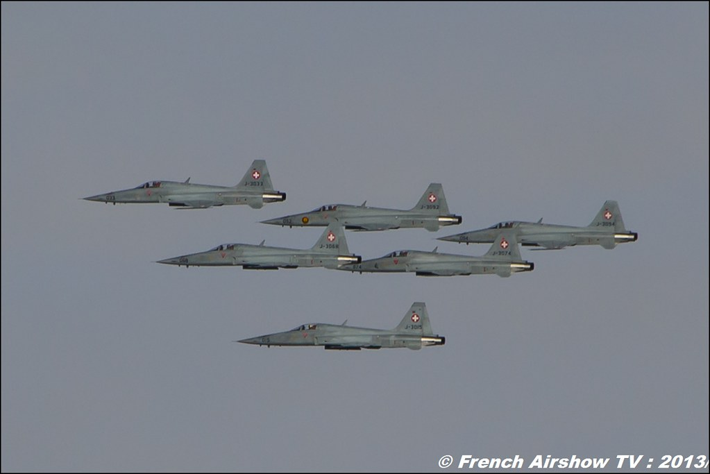 F-5 TigerII Exercices de tir d'aviation Axalp, Axalp / Brienz, Abeflue ,Axalp 2013
