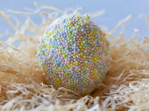 Sprinkles Easter Egg: photo & how-to by Jackie Alpers