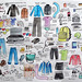 Packing diagram for month at VSC by Alaskan Eero