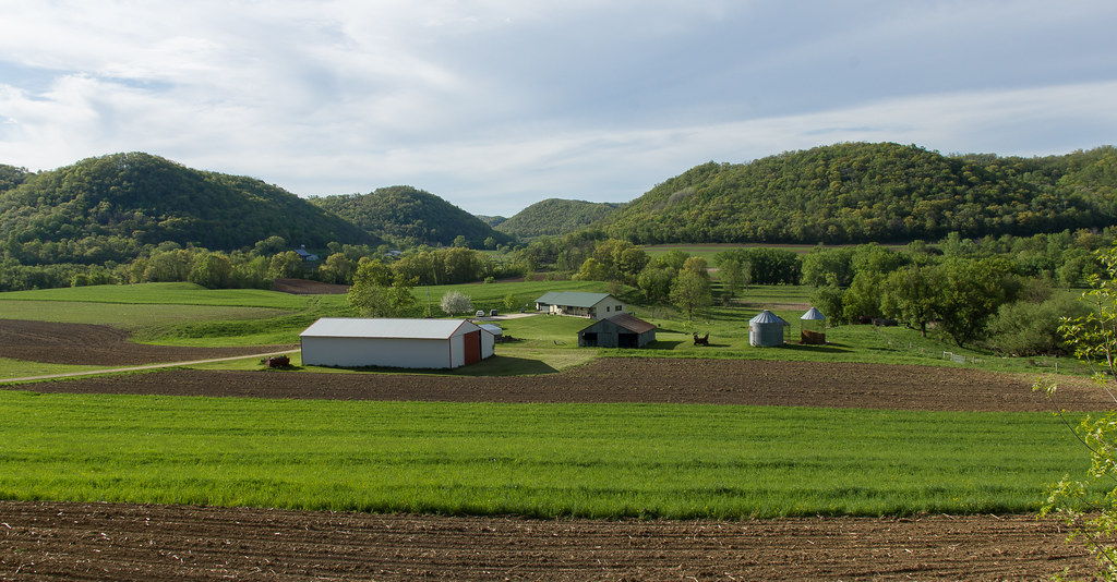 Farm in the Bluffs