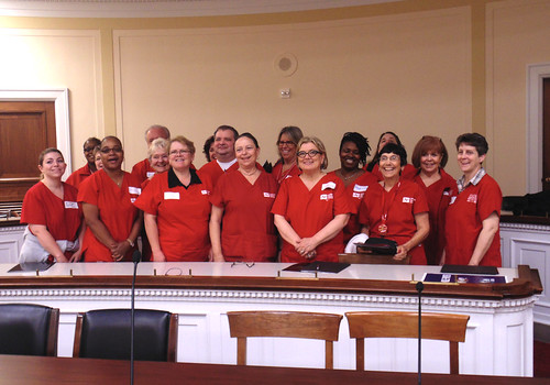 RNs from California, Florida, Illinois, Kansas, Maine, Maryland, Massachusetts, Michigan, Minnesota, Texas and Washington DC urged Congress to enact Medicare for All.
