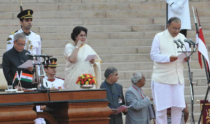 Iindia new defence minister 2014 Arun Jaitley