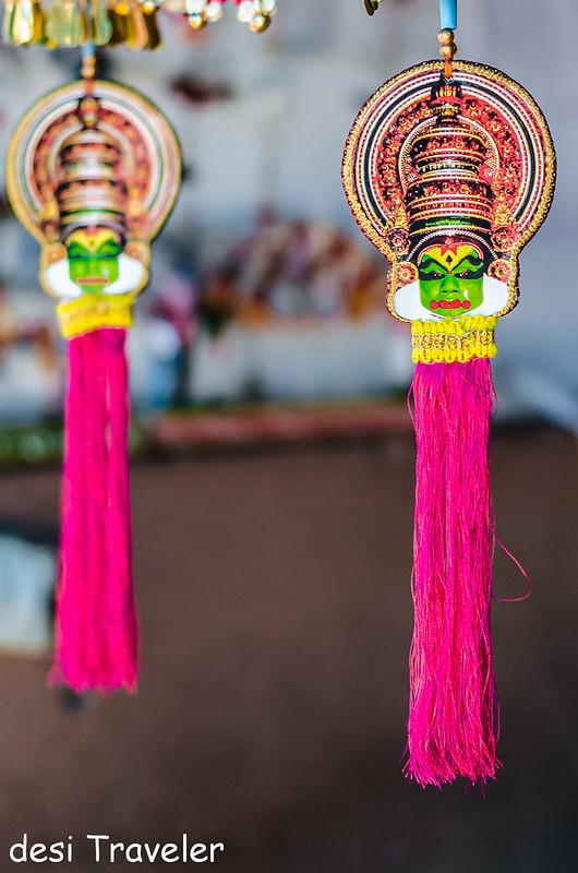 Kathakali show piece souvenirs Kerala Shopping