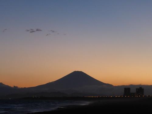 silhouette 富士山 mtfuji シルエット