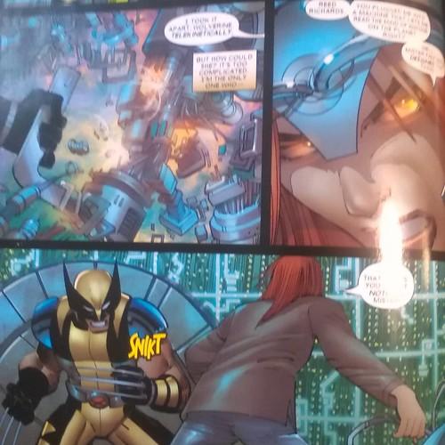 Wolverine vs Rachel, 1 #wolverine #rachelgrey #phoenix #enemyofthestate #markmillar #johnromitajr