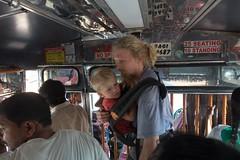 Nosidło bardzo pomagało w trudnych sytuacjach, jak przepełniony autobus!