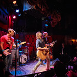 Wed, 22/02/2017 - 5:16pm - Old 97's - Rhett Miller, Murry Hammond, Ken Bethea, and Philip Peeples - perform for a lucky crowd of WFUV Members at Rockwood Music Hall in New York City, Feb. 22, 2017. Hosted by Carmel Holt. Photo by Gus Philippas