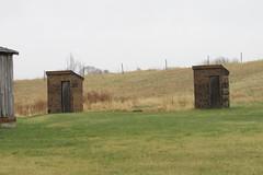 Abandoned Huff, North Dakota One-room School