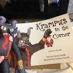My Krampus in the Corner arrived today! :grin: #krampusinthecorner
