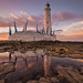 St marys lighthouse - Remastered. by .Brian Kerr Photography.