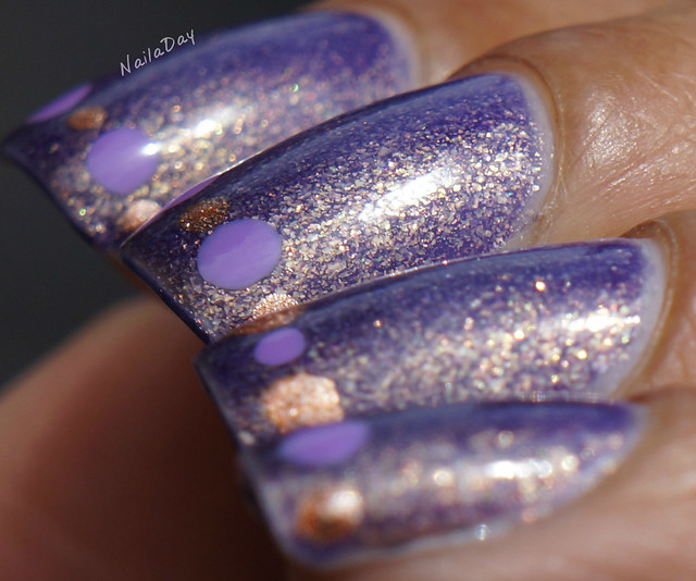 NailaDay: Spoiled Are Mermaids Real? with dots
