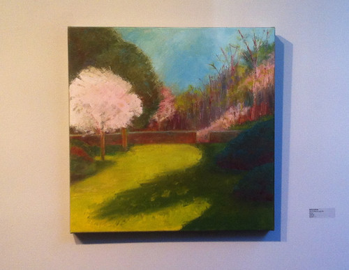 First of May at Long Hill (at Porter Mill Artists Show) by randubnick