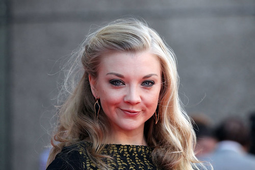 Natalie Dormer on the red carpet for the European premiere of Breathe In