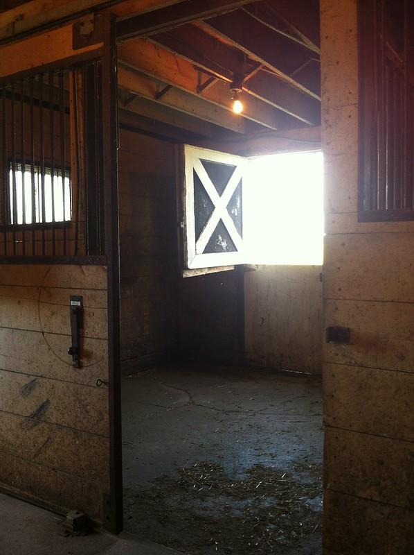box stall horse barn
