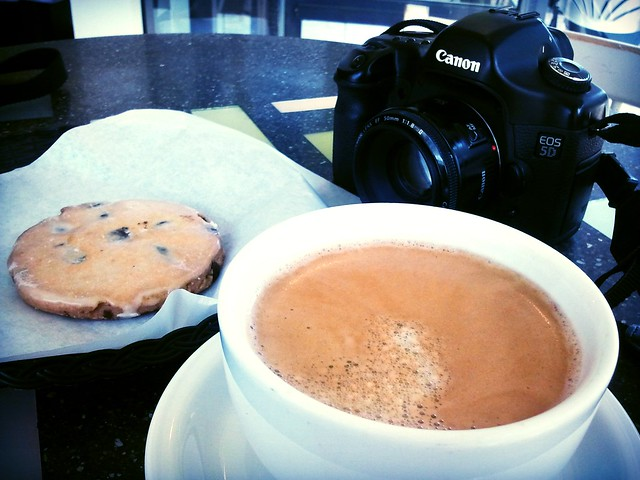 Coffee Cookie Camera