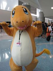 Anime Expo 2013 - Charmander Cosplay