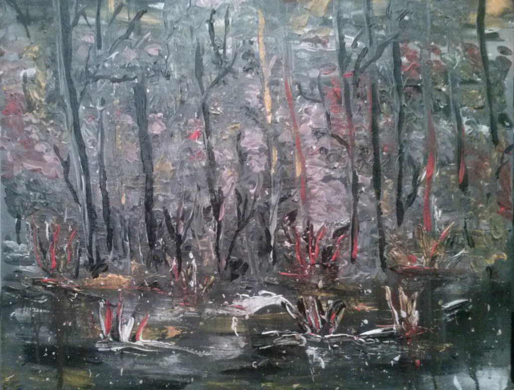 acryl painting 40x50