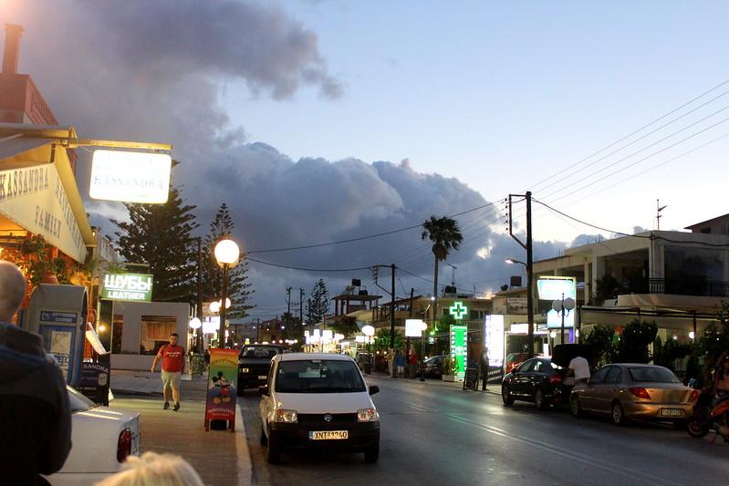 synkkii pilvii