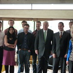 US Ambassador at Gates Common room June 2012