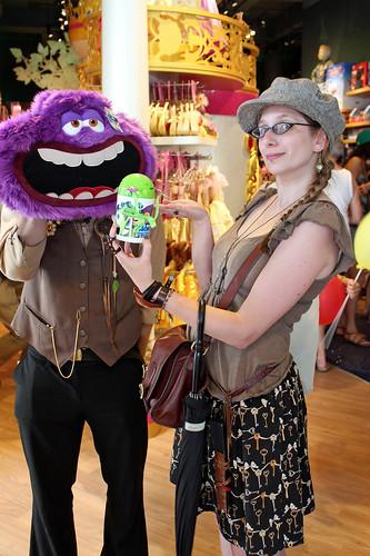 Fun at the Disney Store