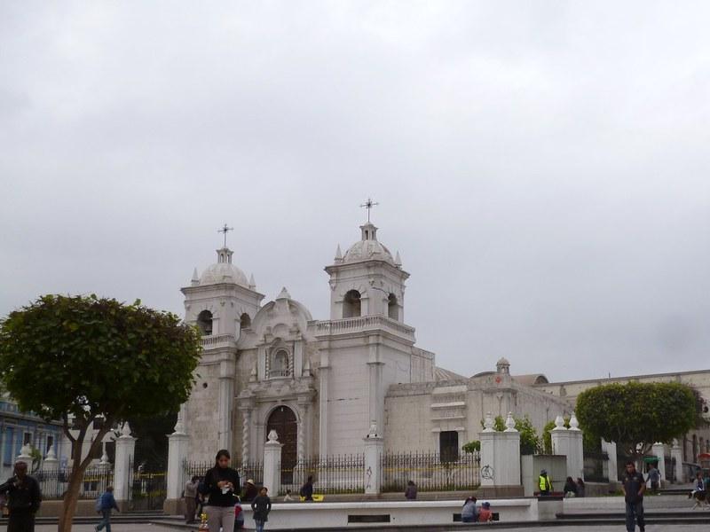 A church in Arequipa