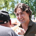 Justin at a meet-and-greet in Cranbrook. / Justin lors d'une rencontre sociale à Cranbrook. Photo: Adam Scotti