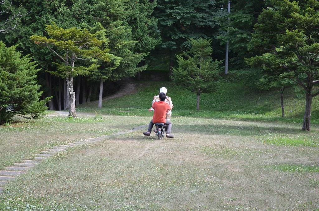 電動自転車。10