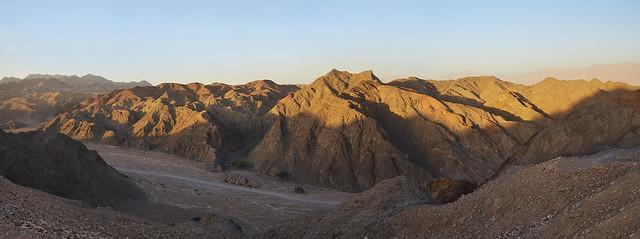 Panoramica del desierto de Néguev