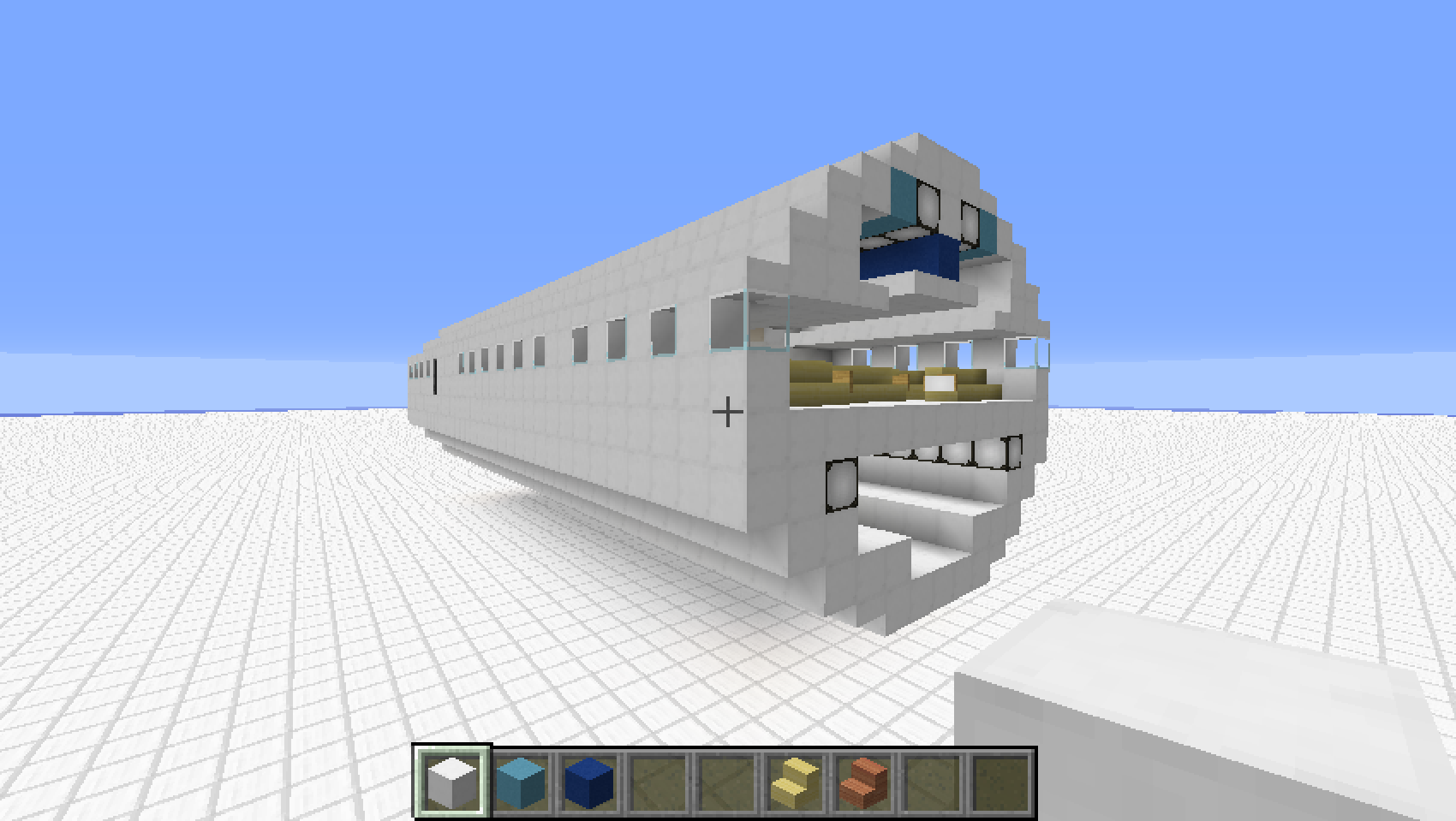 helicopter in minecraft with Minecraft Airplane Tutorial on He162mm in addition Minecraft Airplane Tutorial besides Iron Man Mansion Es Vedra also Lego Juniors The Incredibles 2 Sets Available On Amazon besides MV Princess of the Stars.
