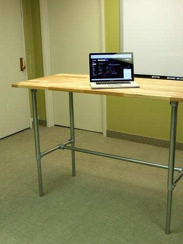 Adjustable Height Desk - Standing Position