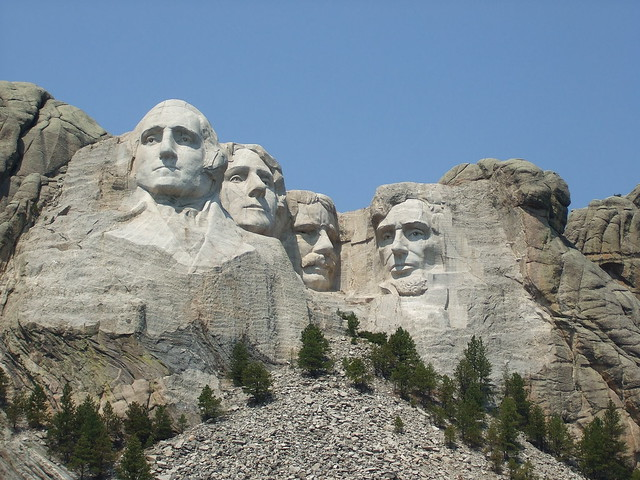 Mount Rushmore National Memorial by CC user haydn on Flickr