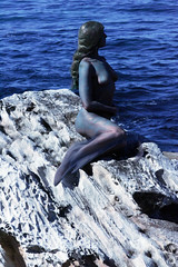 Little Mermaid Human Statue